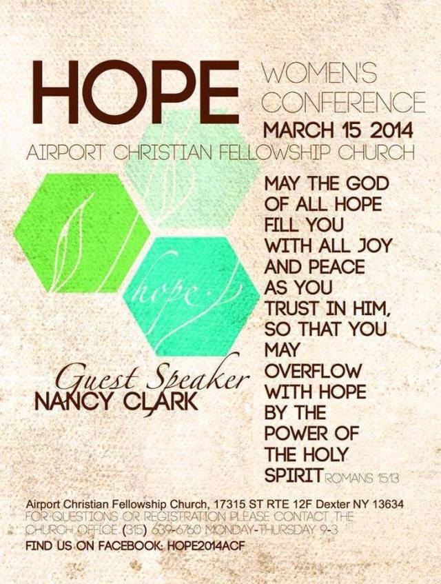 HOPE Women's Conference 2014