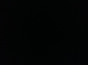 No Moon... Friday before Black Friday 2013