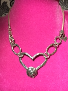 Hart Impressions January 2016 New and Transformed Heart choker bracelet